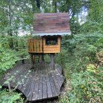 小淵沢上笹尾ツリ-ハウス付き278坪の森